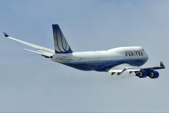 N118UA - United Airlines Boeing 747-400