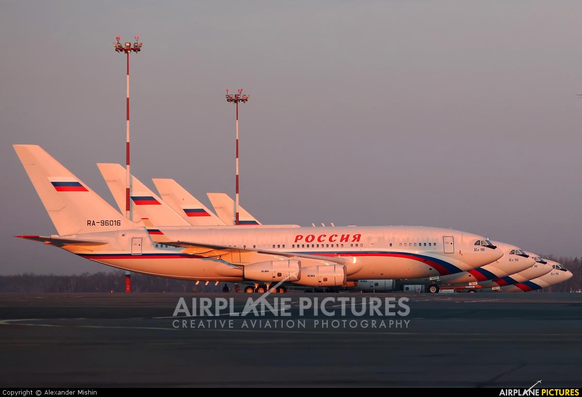 Rossiya RA-96016 aircraft at Moscow - Sheremetyevo