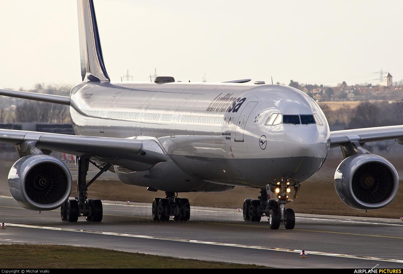 d aiha lufthansa airbus a340 600 at frankfurt photo id 188361 airplane. Black Bedroom Furniture Sets. Home Design Ideas