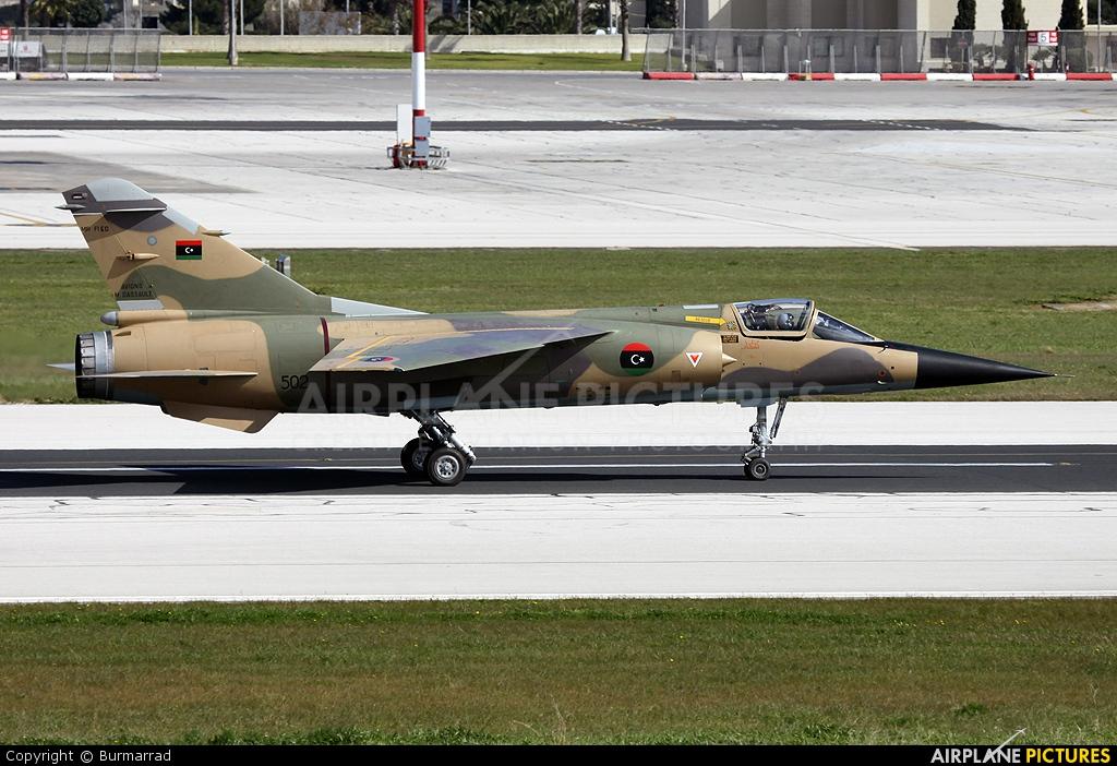 Libya - Air Force 502 aircraft at Malta Intl