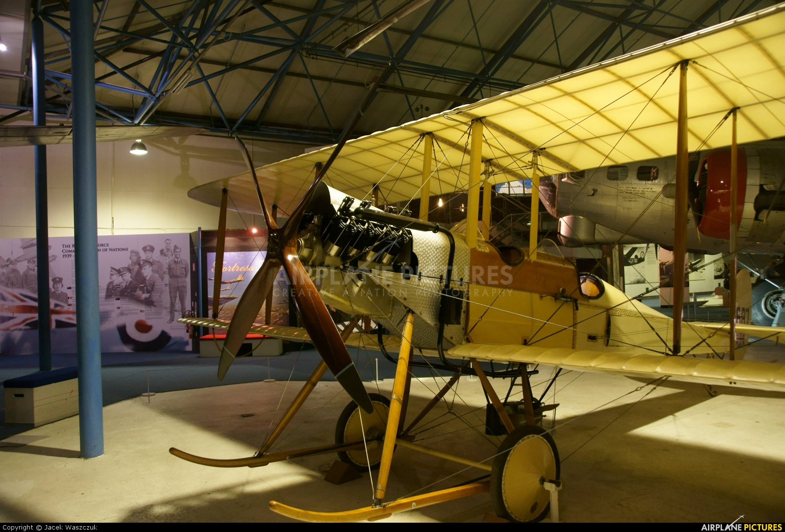 Royal Air Force 687 aircraft at Hendon - RAF Museum