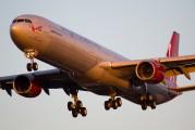 G-VWIN - Virgin Atlantic Airbus A340-600 aircraft