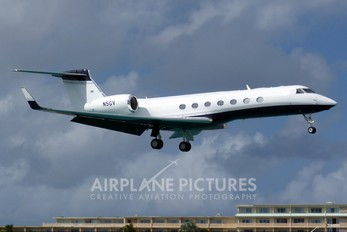 N5GV - Private Gulfstream Aerospace G-V, G-V-SP, G500, G550