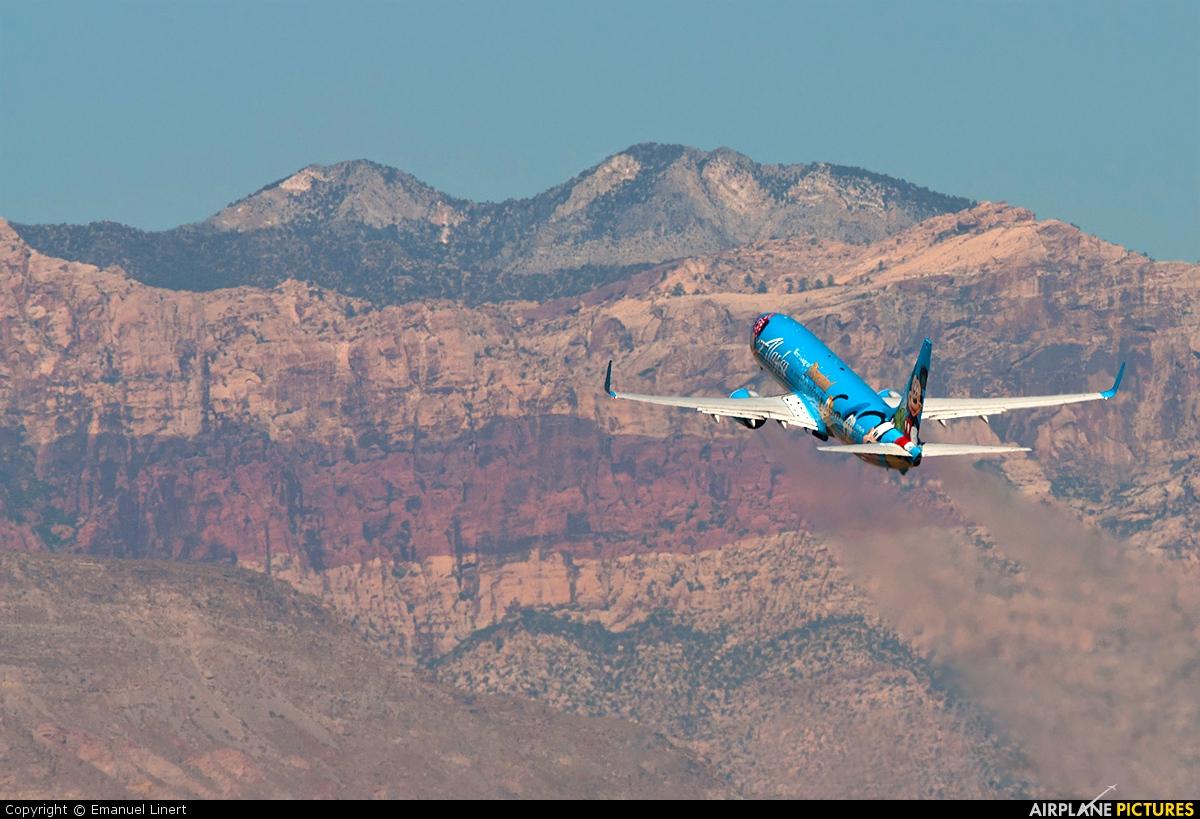 Alaska Airlines N318AS aircraft at Las Vegas - McCarran Intl
