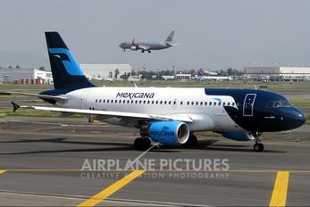 XA-CMA - Mexicana Airbus A319