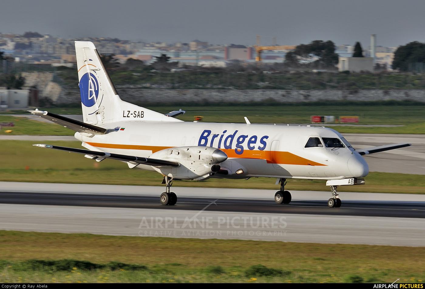 Air Scorpio LZ-SAB aircraft at Malta Intl