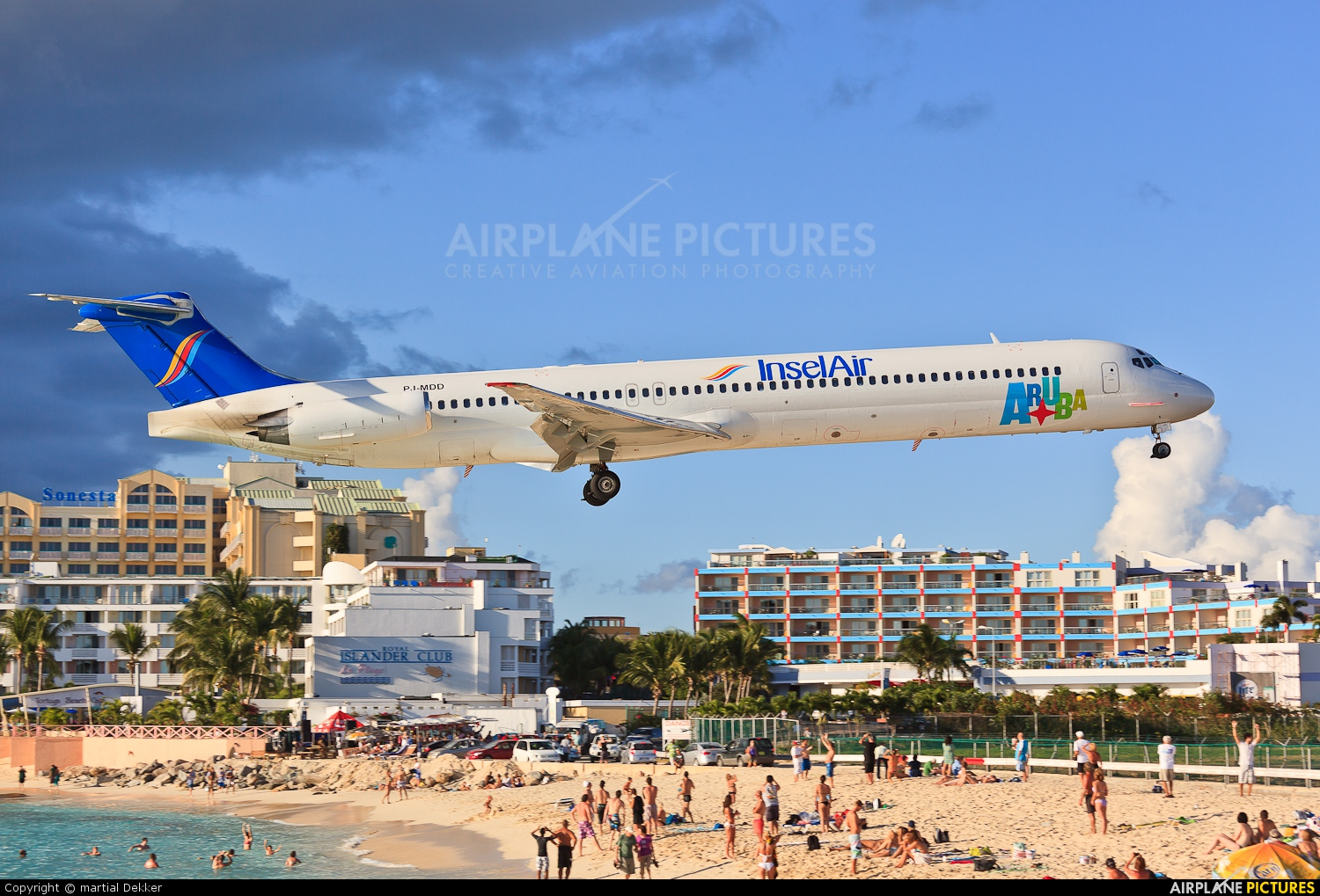 Insel Air PJ-MDD aircraft at Sint Maarten - Princess Juliana Int