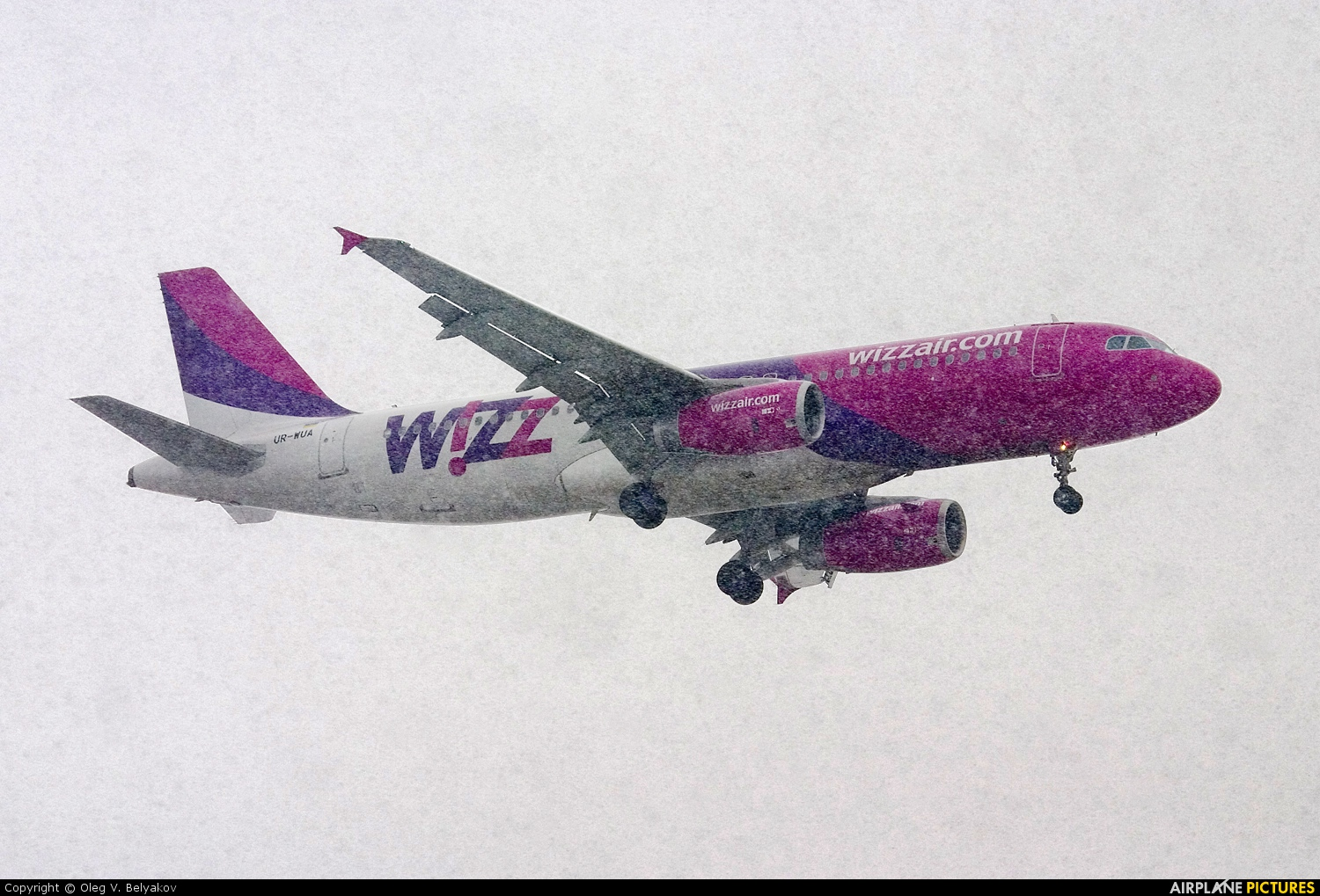 Wizz Air UR-WUA aircraft at Kiev - Borispol