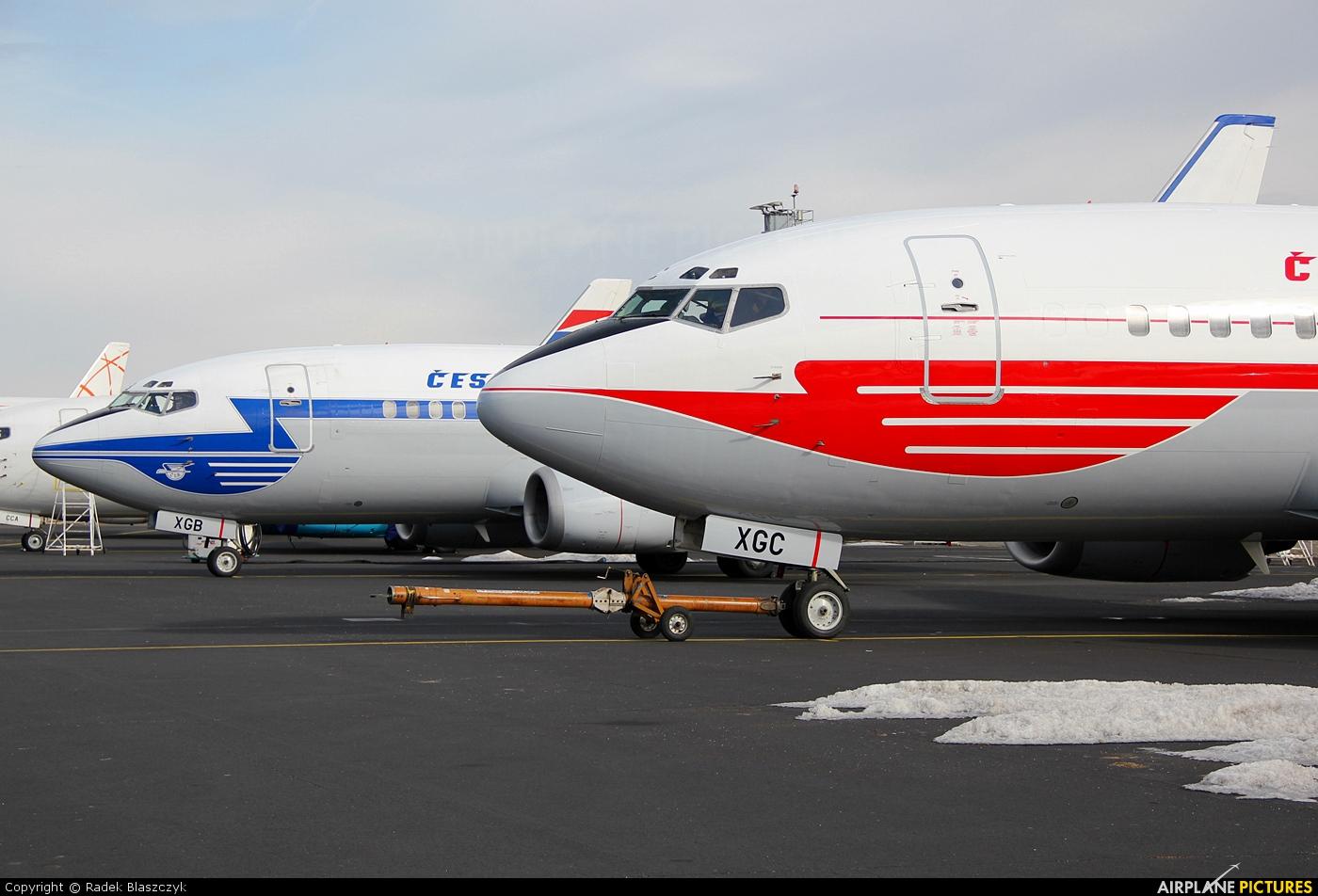 CSA - Czech Airlines OK-XGC aircraft at Prague - Václav Havel