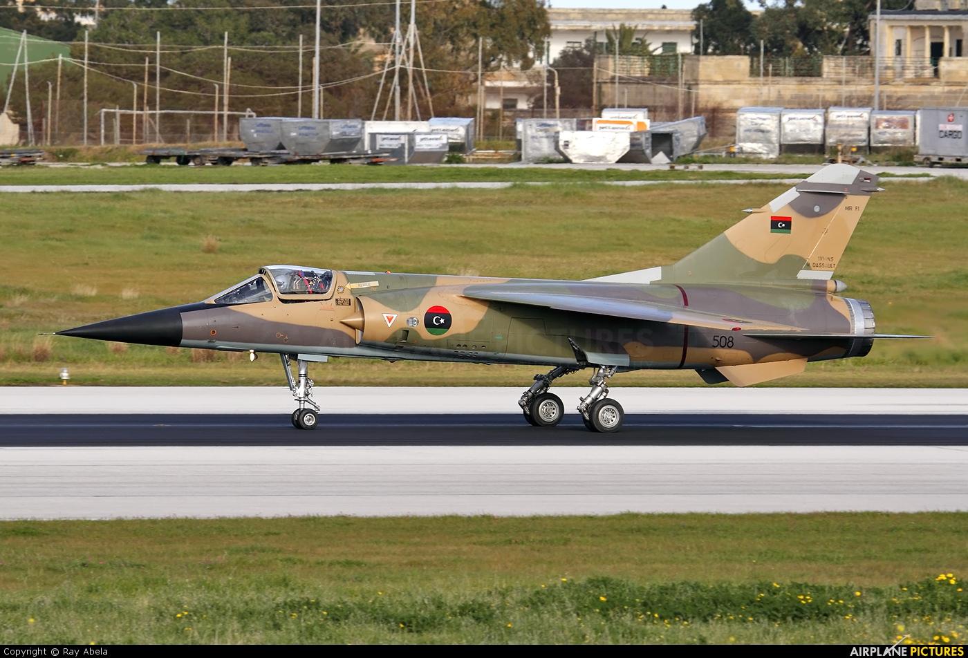 Libya - Air Force 508 aircraft at Malta Intl