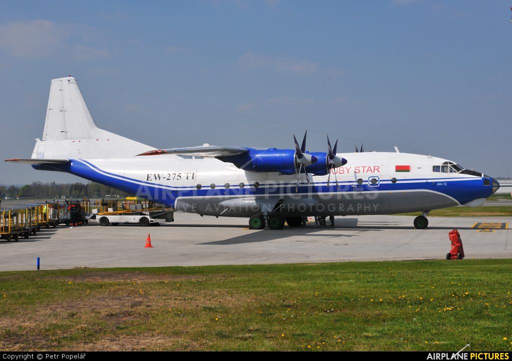 Ruby Star Air Enterprise EW-275TI aircraft at Prague - Václav Havel