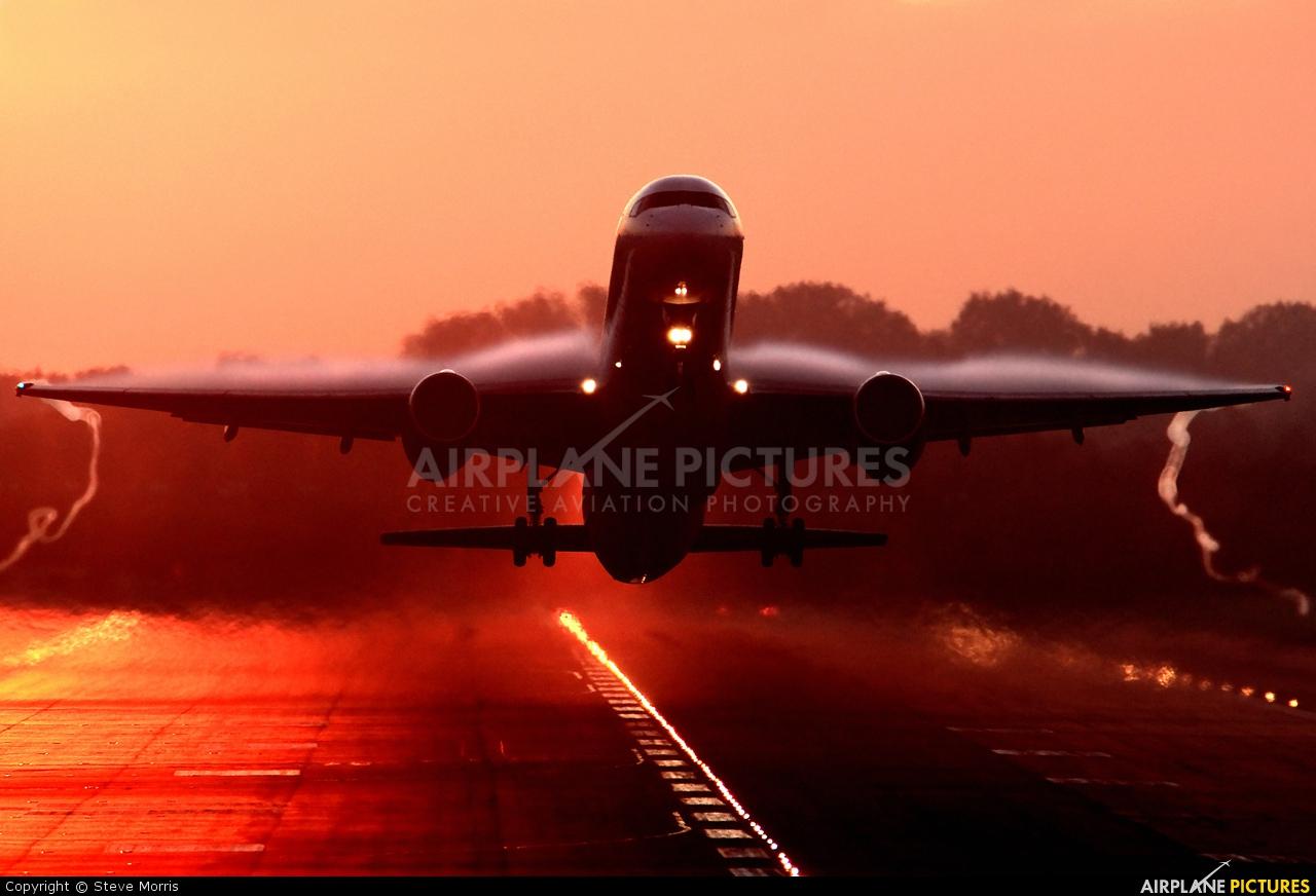 Astraeus G-OPJB aircraft at London - Gatwick