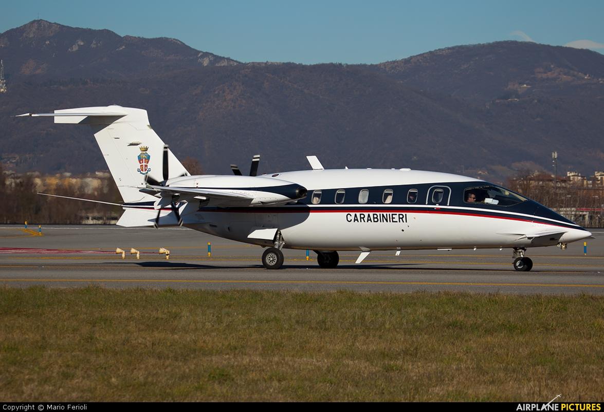 Italy - Carabinieri MM62246 aircraft at Bergamo - Orio al Serio