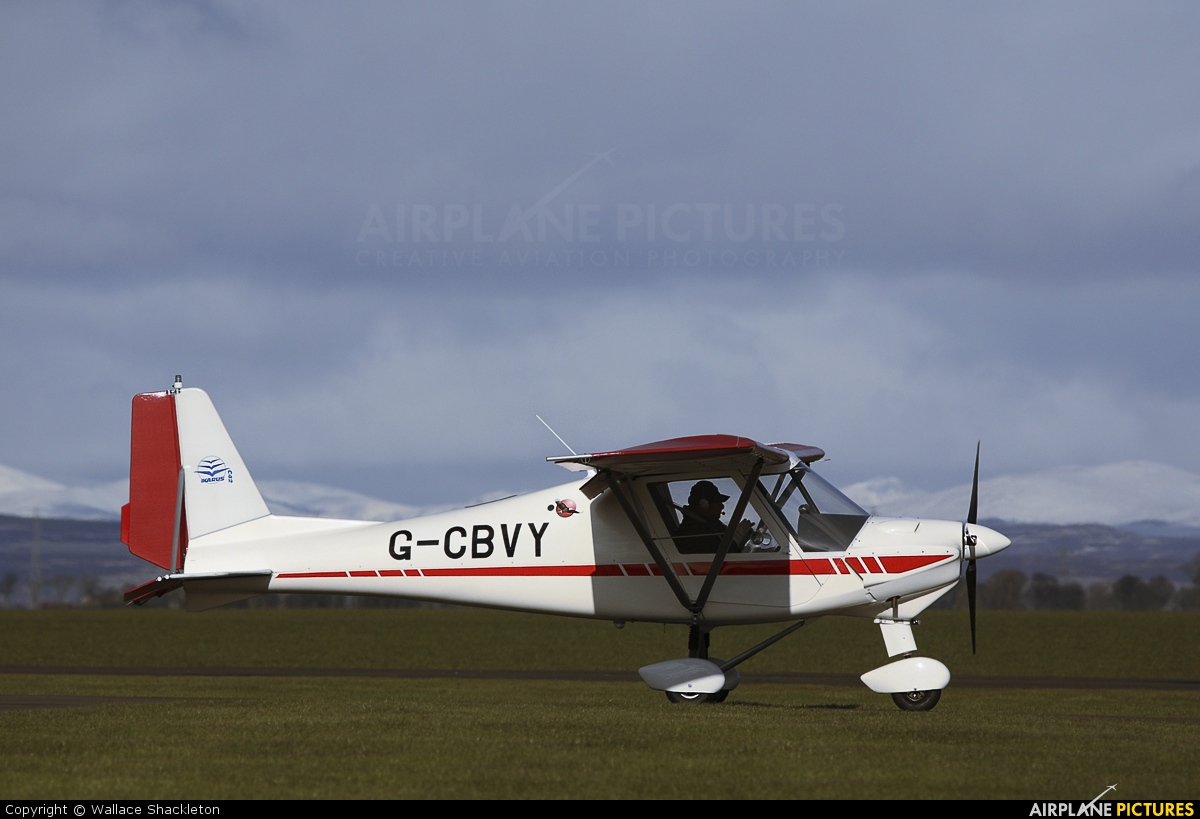 Private G-CBVY aircraft at Perth - Scone