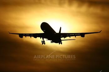 G-VBUS - Virgin Nigeria Airbus A340-300