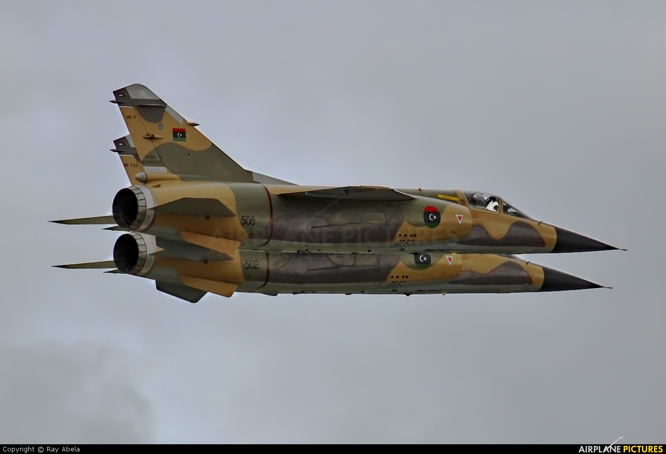 Libya - Air Force 508 aircraft at Malta Intl
