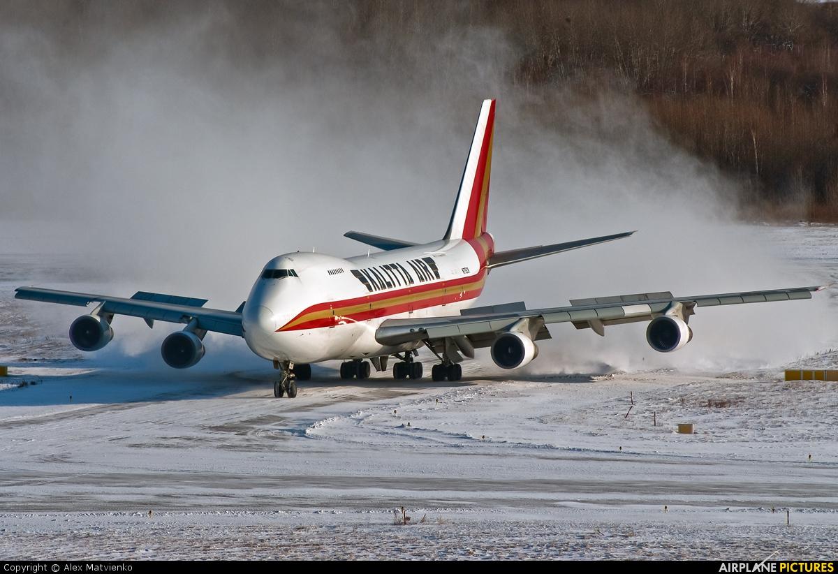Kalitta Air N715CK aircraft at Khabarovsk Novy