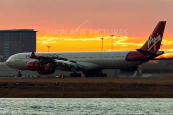 G-VYOU - Virgin Atlantic Airbus A340-600