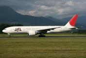 JA706J - JAL - Japan Airlines Boeing 777-200ER aircraft