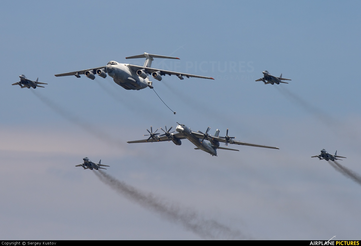 Russia - Air Force 35 aircraft at Off Airport - Russia