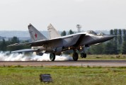 32 - Russia - Air Force Mikoyan-Gurevich MiG-25PU aircraft