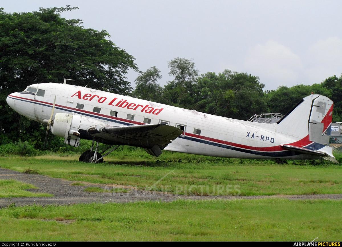 Aero Libertad XA-RPO aircraft at Bahias de Huatulco Intl