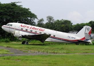 XA-RPO - Aero Libertad Douglas DC-3