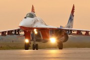 "08 - Russia - Air Force ""Strizhi"" Mikoyan-Gurevich MiG-29 aircraft"
