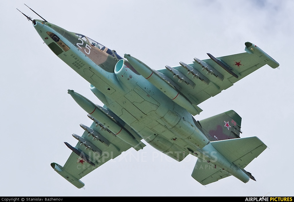 Russia - Air Force 25 aircraft at Kubinka