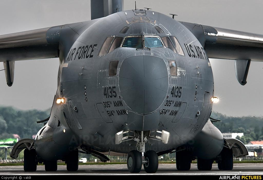 USA - Air Force 04-4135 aircraft at Kraków - John Paul II Intl