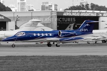 LV-BPL - Private Learjet 35