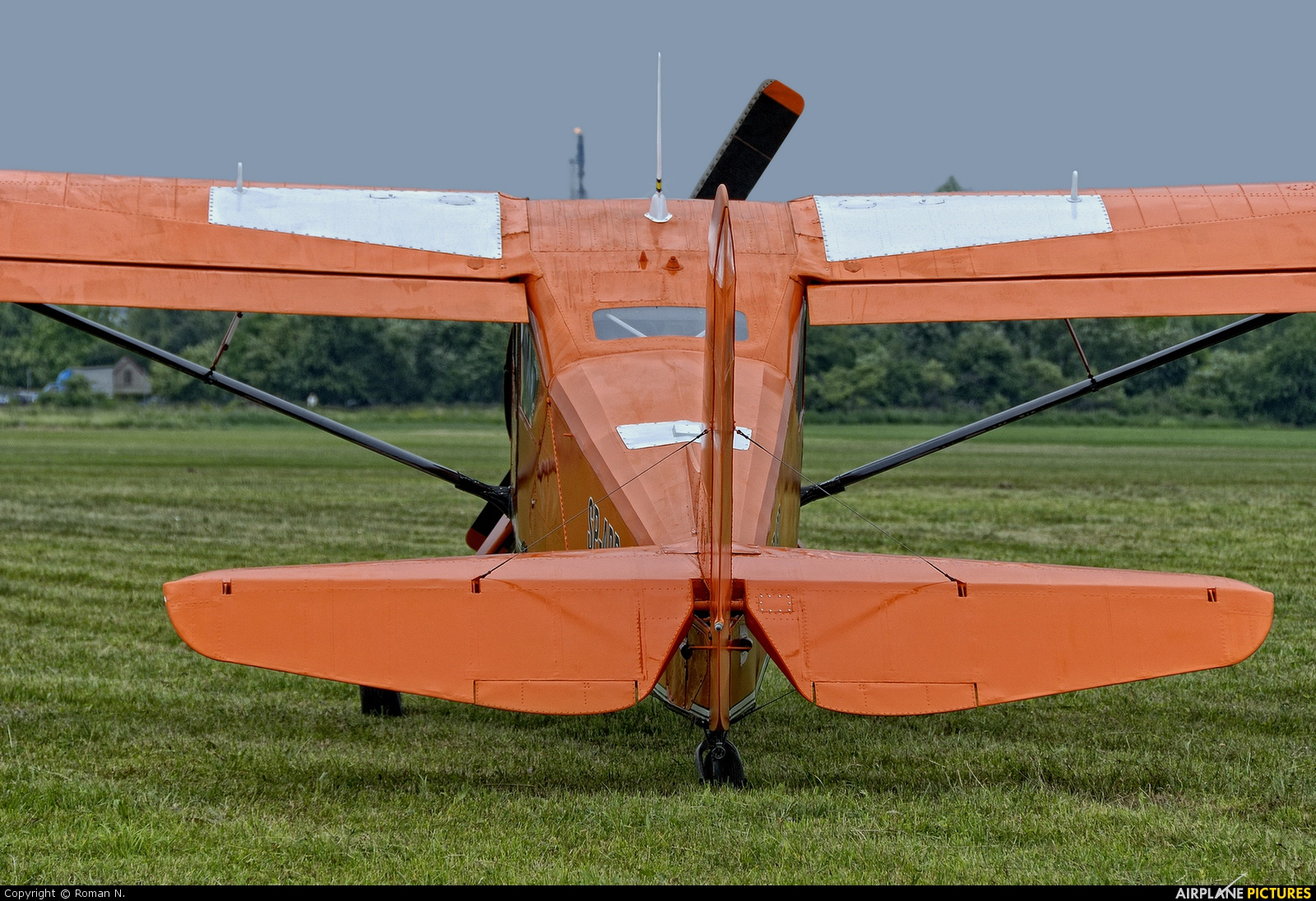 Aeroklub Bydgoski SP-ABD aircraft at Płock