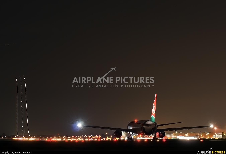Kenya Airways 5Y-KQZ aircraft at Amsterdam - Schiphol