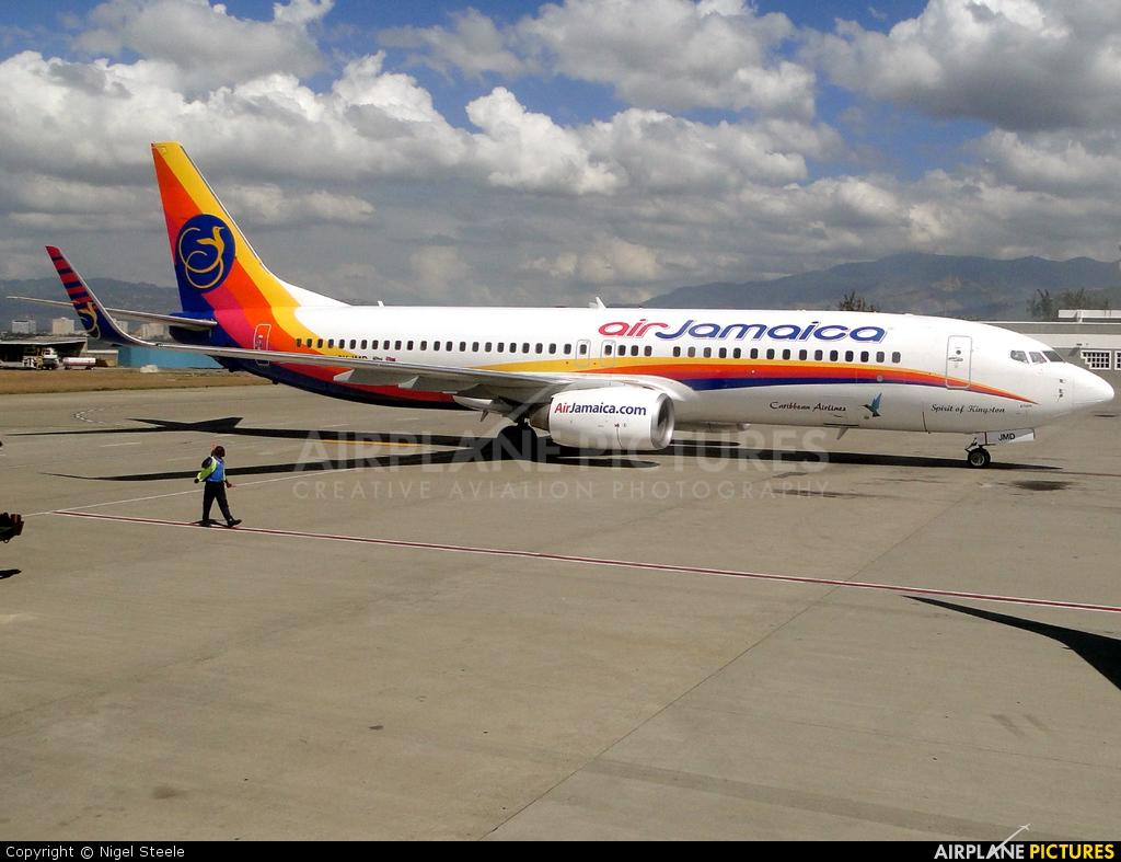 Air Jamaica 9Y-JMD aircraft at Kingston - Norman Manley Intl