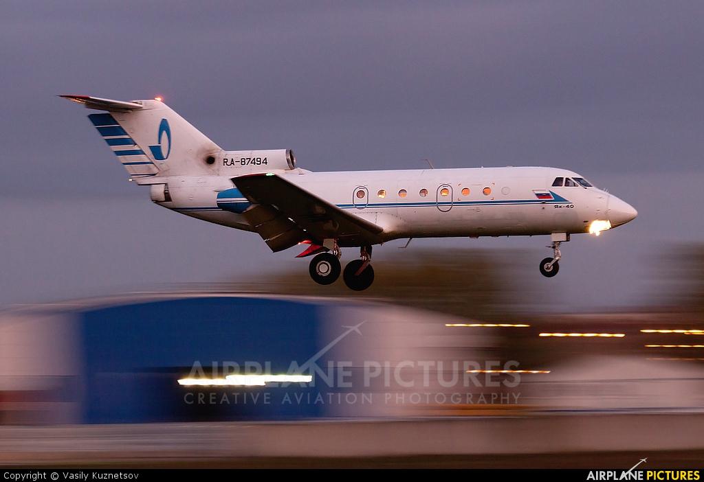 AK Bars Aero RA-87494 aircraft at Moscow - Vnukovo