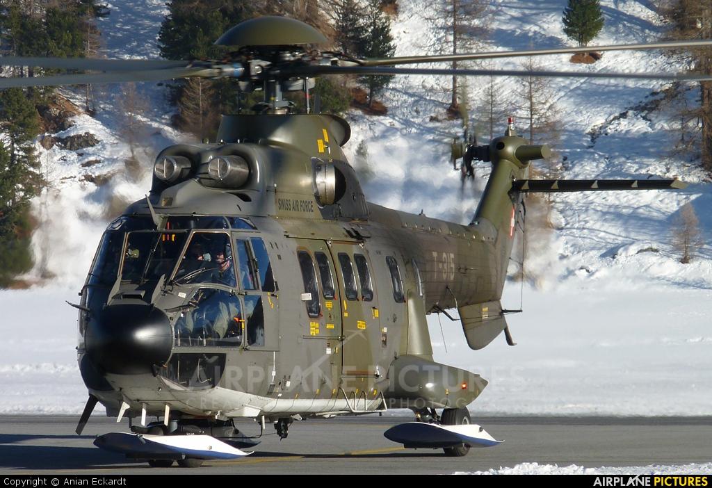 Switzerland - Air Force T-315 aircraft at Samedan - Engadin
