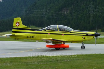 C-408 - Switzerland - Air Force Pilatus PC-9