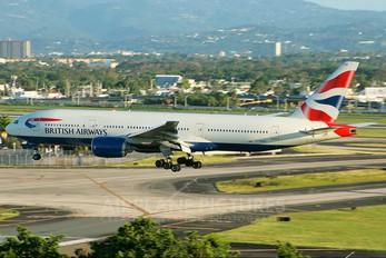 G-YMMB - British Airways Boeing 777-200