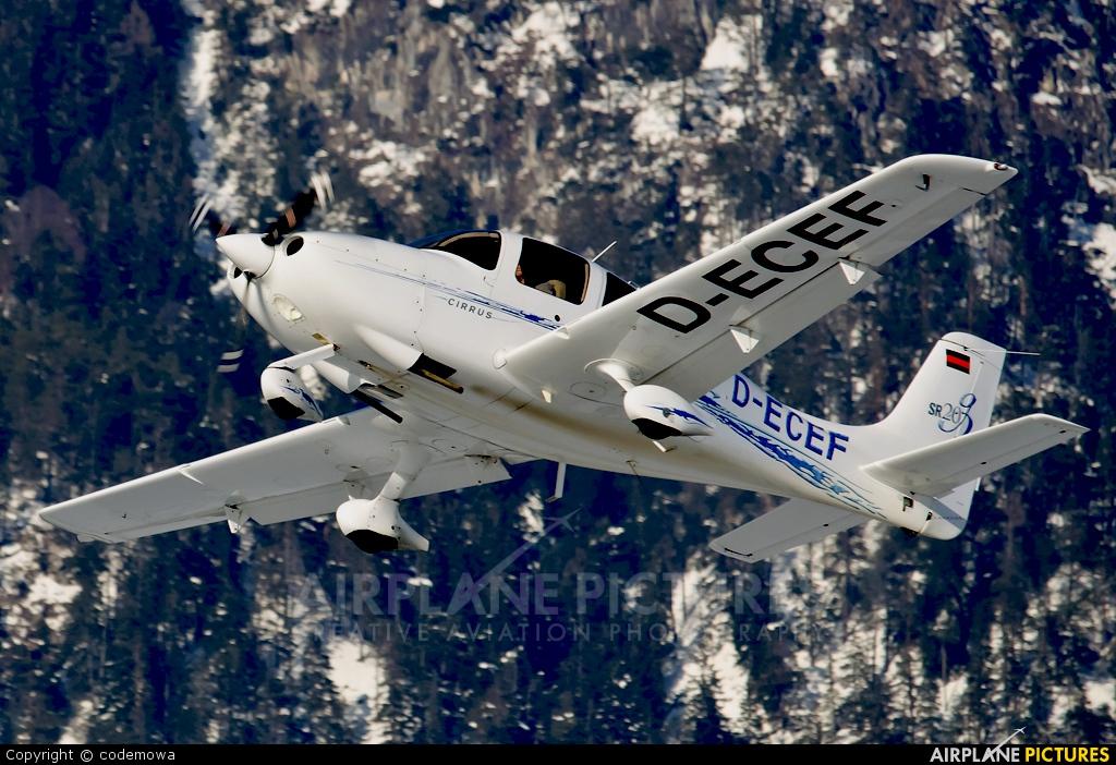 Private D-ECEF aircraft at Innsbruck