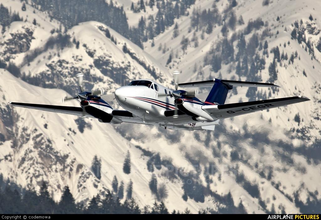 Cega Air Ambulance UK G-CEGR aircraft at Innsbruck