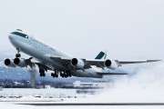 B-LJF - Cathay Pacific Cargo Boeing 747-8F aircraft