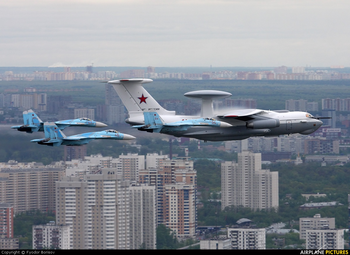 Russia - Air Force 41 aircraft at In Flight - Russia