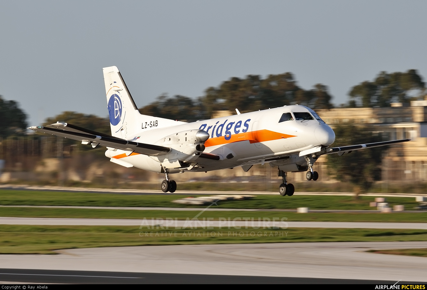 Air Scorpio LZ-SAB aircraft at Malta Intl