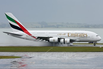 A6-EDC - Emirates Airlines Airbus A380