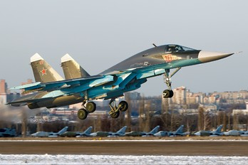 10 - Russia - Air Force Sukhoi Su-34