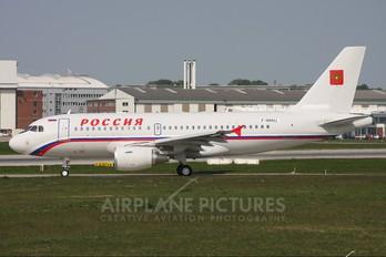 F-WHUJ - Rossiya Airbus A319 CJ