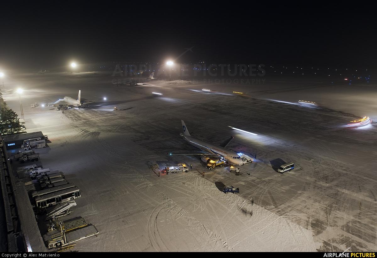 - Airport Overview - aircraft at Khabarovsk Novy