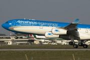 LV-CSE - Aerolineas Argentinas Airbus A340-300 aircraft
