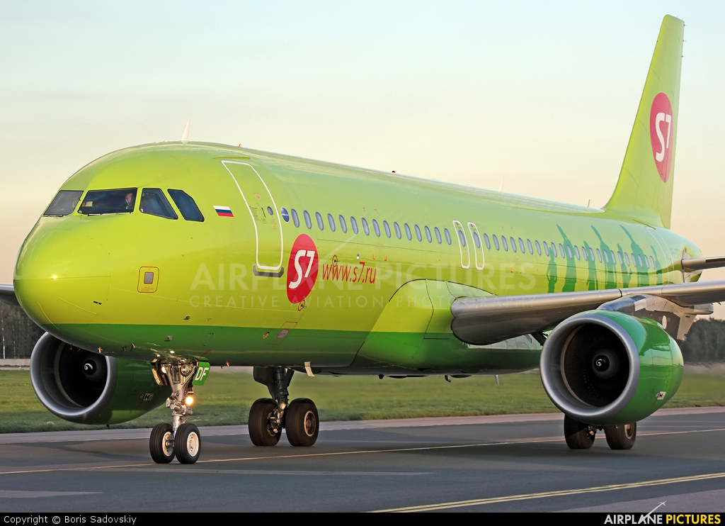 S7 Airlines VQ-BDF aircraft at Moscow - Domodedovo