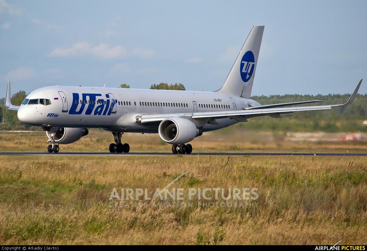 UTair VQ-BEY aircraft at Koltsovo - Ekaterinburg